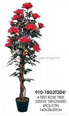 artificial rose tree