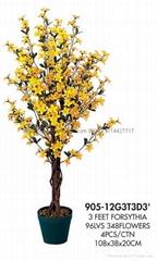 artificial forsythia tree