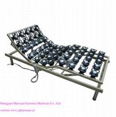 全膠花鐵質電動床架HY-D007