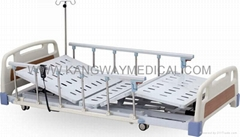ABS Three-function Electric Super Low Medical Care Bed