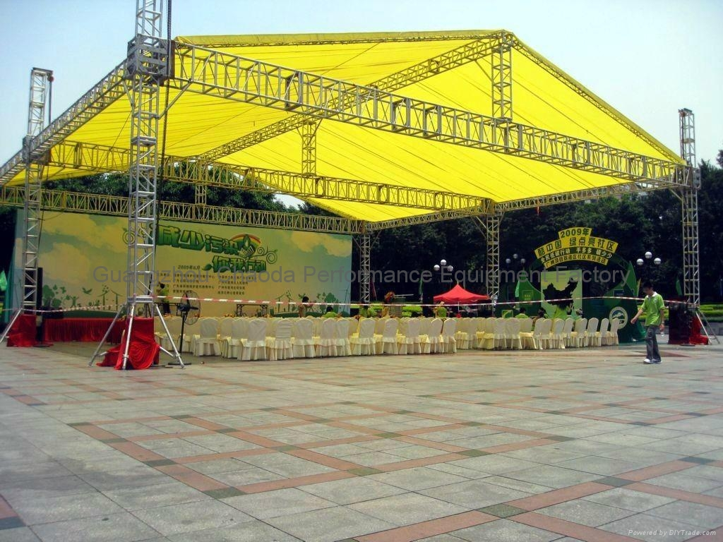 6 Towers 20x16x8m Temporary Aluminum Stage Truss System
