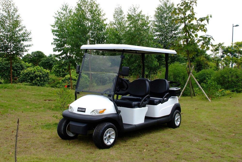 4人座電動高爾夫觀光車 1