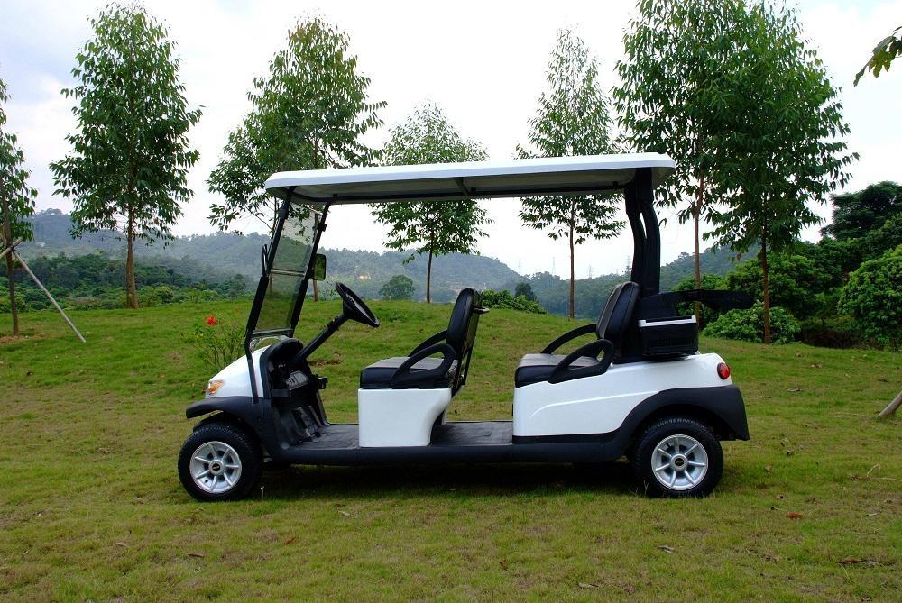 4人座電動高爾夫觀光車 2