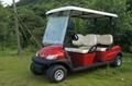 4人座電動高爾夫觀光車 4