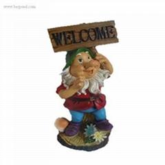 Cute Polyresin Figurine Resin Decorations