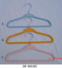 儿童植絨衣架 2