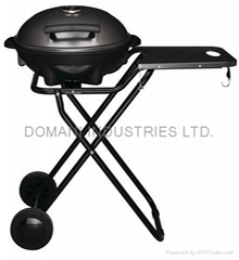 Portable Outdoor Electric BBQ Cart