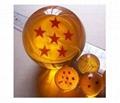 Colored acrylic balls