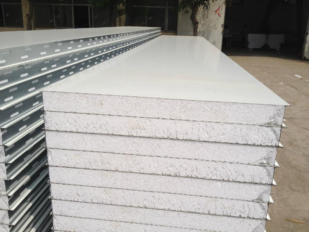 Cleanroom Sandwich Panel 950mm 1150mm Wzh China