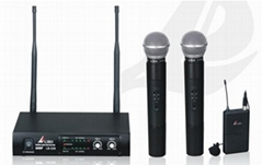 UHF-band Dual-channel wireless microphone LB-228