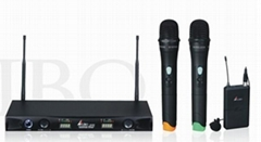 UHF-band Dual-channel wireless microphone