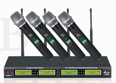 UHF 4 Channels Wireless Microphone (LB-602)