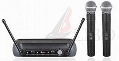 VHF Dual-Channel Wireless Microphone