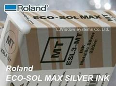 羅蘭環保弱溶性銀色墨水