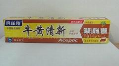 专业OEM保健品牙膏代工生产