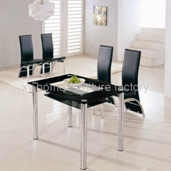 modern glass dining table xydt-067