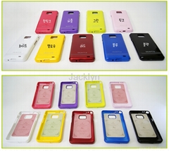 Samsung Galaxy S2 Jelly Case Set
