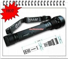 Aluminium  HID flashlight