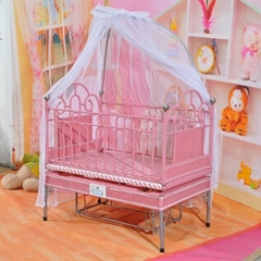 Patent!!voice control multifunction baby crib