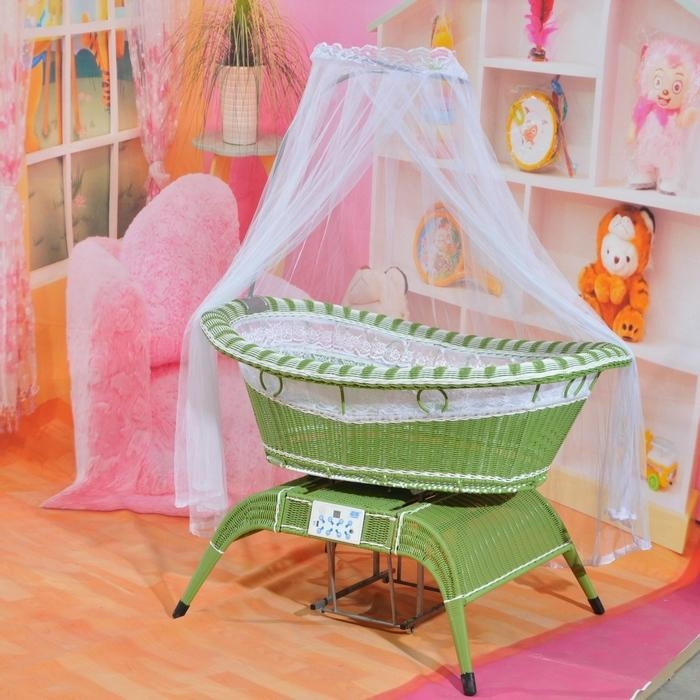 voice control baby swing bed - 06s_green - SUPER (China ...
