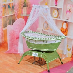 voice control baby swing bed