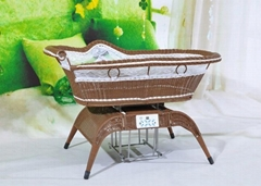 ce control music baby swing crib