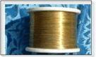 提供南通翔盛优质金属丝,表面光亮又耐磨的镀黄铜