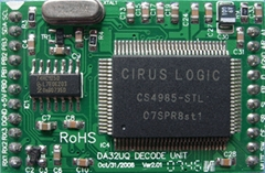 DTS/杜比數碼AC-3音頻解碼板(DA32UQ)