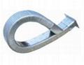 适应于各切屑机床的矩形金属软管
