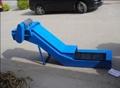 数控立车专用链板式排屑输送机 2