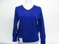 女式休閑羊毛衫 1