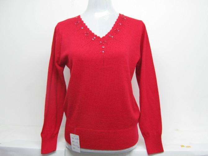 女式休閑羊毛衫 3
