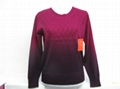 女式休閑羊毛衫 4
