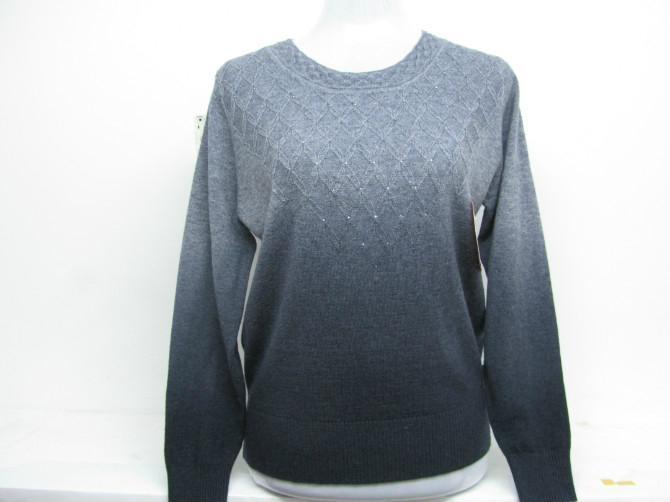 女式休閑羊毛衫 5