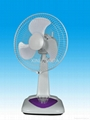 Rechargeable fan supplier 12inch table