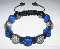 Classical shamballa bracelet