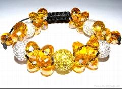 fashion  shamballa crystal bracelet for wholesale