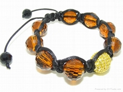 crystal shamballa bracelet