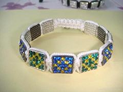 square shamballa bracelet