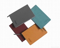 2012 newest style notebook with pu cover