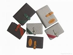 2012 newest pu leather loose-leaf notebook