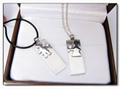 Gift necklace usb flash storage usb 2.0