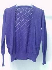 Ladies cardigan knitwear