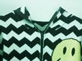 Jacquard sweater with zipper 2
