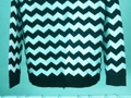 Jacquard sweater with zipper 5