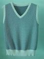 knit jacquard vest