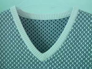 knit jacquard vest 3
