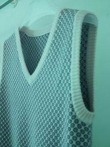 knit jacquard vest 4