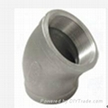 90 deg thread elbow fitting