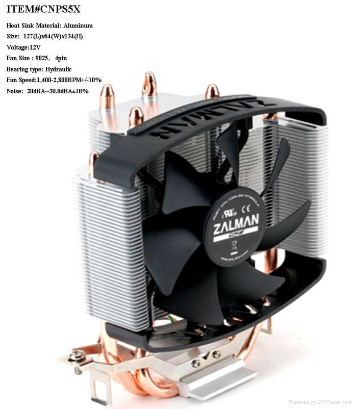 Zalman Brand CPU cooler CNPS5X 1